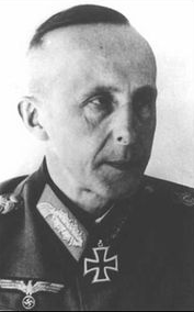 Looking at the image of Generalleutnant der 95. Inf. Div. Hans-Heinrich Sixt von Armin al well the commander in chief of the 95th Infantry Division of the German Wehrmacht.